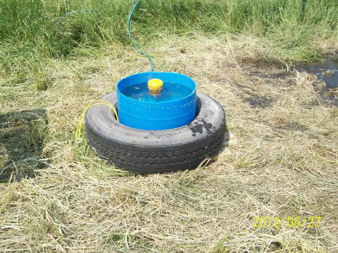 plastic barrel water tank