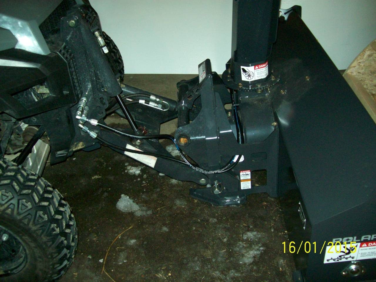 Polaris Brutus HD snow blower review – Rural Reflections