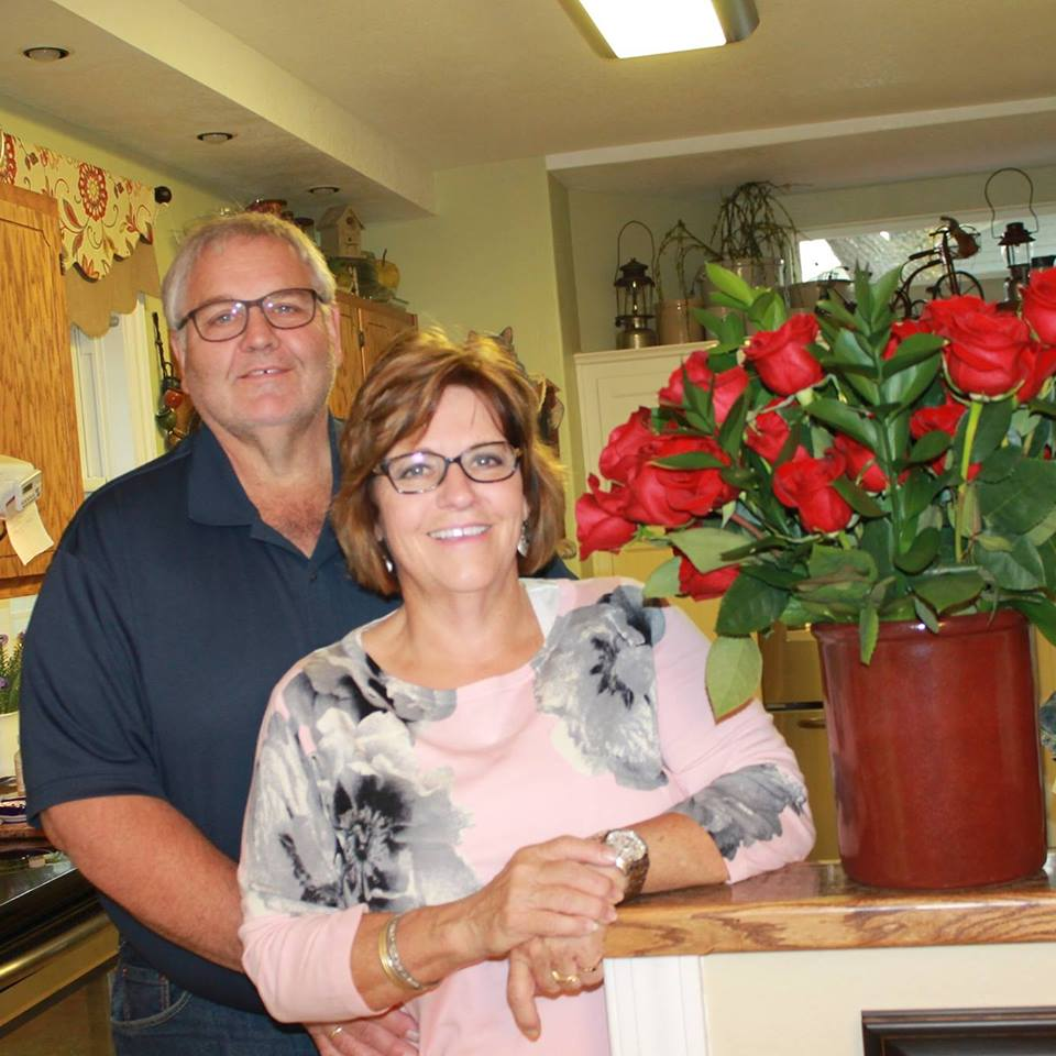 A great picture of my brother Dave and his wife, Mary.
