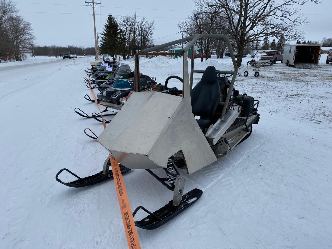 Rob Crowe sled 2
